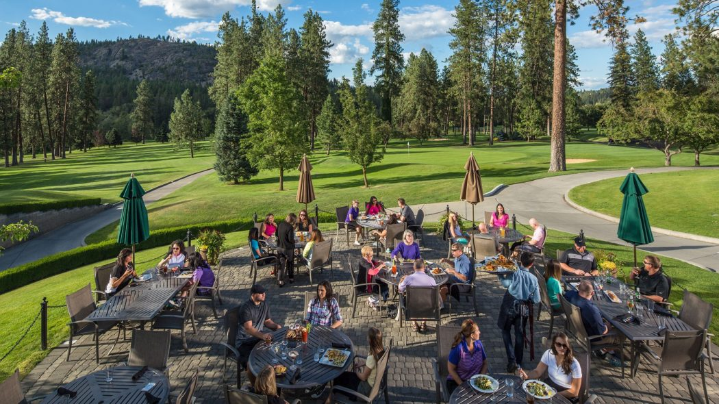 Kalispel Golf and Country Club Outdoor Dining