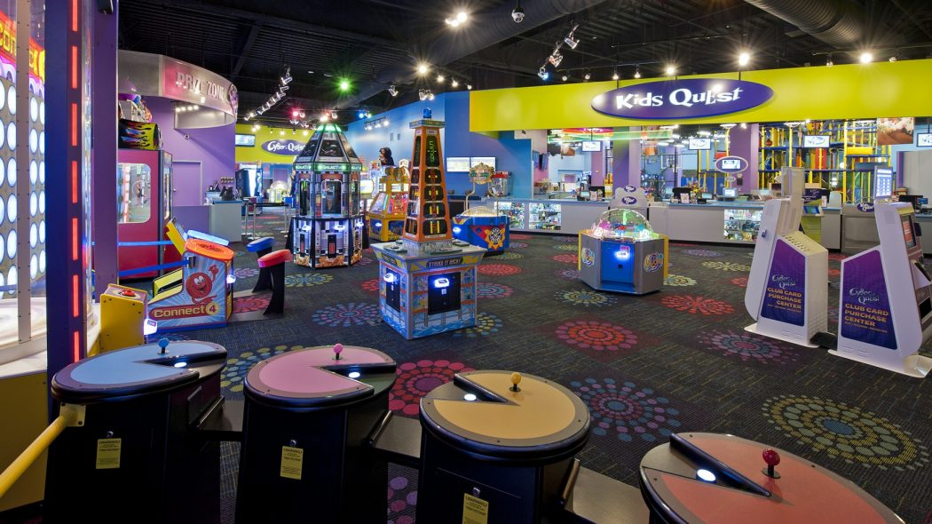 Inside view of Kids Quest at Northern Quest