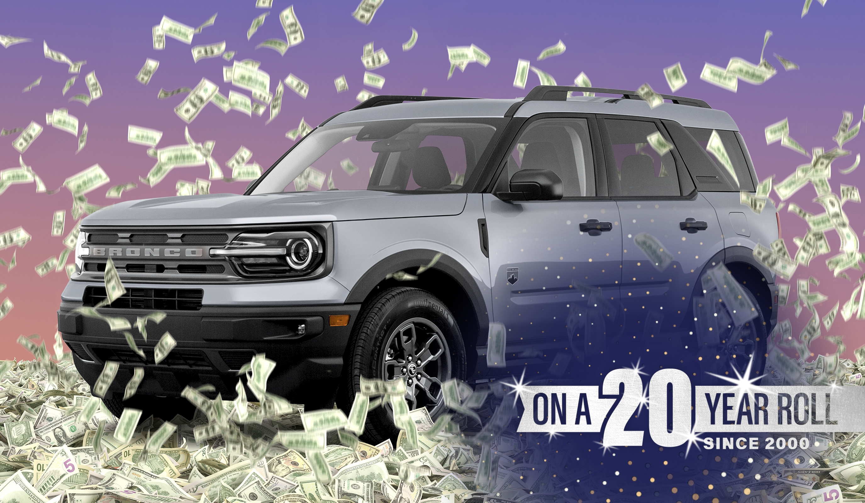 Ford Bronco Giveaway