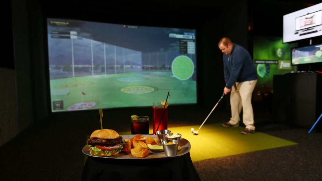 Top Golf at Epic in Northern Quest Resort and Casino
